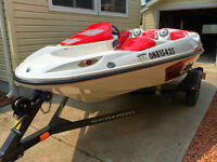 2007 Seadoo Speedster 150 w/trailer, low hours, great shape