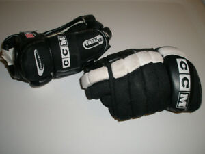 """CCM 252 HOCKEY GLOVES YOUTH SMALL SIZE 10"""" or 25.5 cm"""