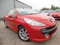 PEUGEOT 207 CC 1.6 HDI DIESEL COUPE SPORT