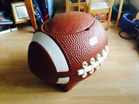 Little Tikes giant football toy storage bin