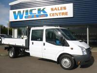 2010 Ford TRANSIT 350 DRW DOUBLE CAB TIPPER Manual Tipper