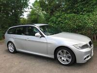 2011 11 BMW 320d M Sport LCI 184 bhp Touring ESTATE DIESEL SILVER
