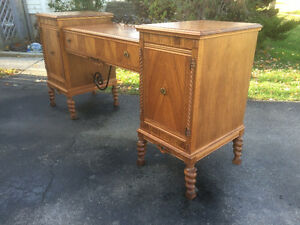 Hespeler Furniture Dual Pedestal Sideboard