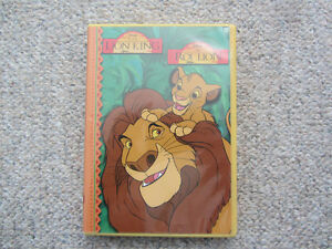 Disney's The Lion King Book & CD-ROM Read Along With Cassette