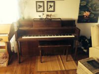 PIANO:  MOVING--MUST FIND NEW OWNER ASAP!