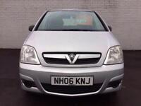 Vauxhall/Opel Meriva 1.4i 16v Manual Petrol 2006 Life Silver