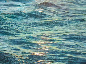 """The Sea of the Soul"" Print of Original Oil Painting Cambridge Kitchener Area image 1"