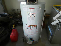 Hot water heater. Natural gas