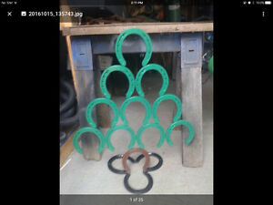 BandR Welding - unique horseshoe decorations and crafts