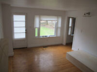 2 Bedroom Downtown - main floor apartment with deck