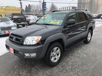 2003 Toyota 4Runner SR5 V8 4X4 SUV....MINT COND....LOW KMS. City of Toronto Toronto (GTA) Preview