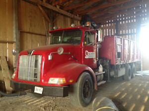 '91 Western Star Stake truck with Hi-Ab