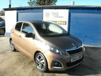 2014 Peugeot 108 ALLURE Hatchback Petrol Manual