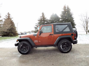 2014 Jeep Wrangler Sport 4x4- WOW Just 27K!!  ONE OWNER