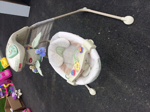 Fisher price cradle swing baby seat