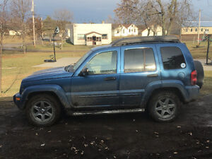 2003 Jeep Liberty special edition