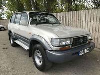 1996 N Toyota Land Cruiser 4.5 auto VX 7 seats 4x4 LPG/GAS MAY P/X