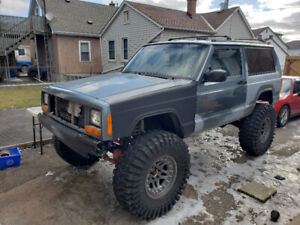 Lifted 1998 jeep Cherokee