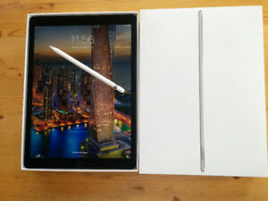 "12.9"" iPad Pro, 32gb space grey, with Apple pencil"