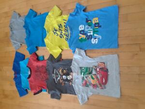 Linge d'été pour garçon 4-5 ans