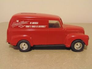 ERTL 1950 Chevy Panel Bank The Heartbeat of America Limited Edit