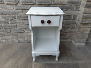 Single Painted Wooden Night Stand