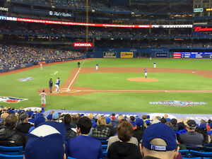 BLUE JAYS VS ORIOLES FINAL SERIES - GREAT SEATS!!! (SECTION 118)