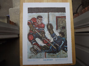 """FS: 1972 Maurice Richard """"Great Moments"""" Prudential Sheet"""