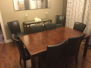 8 piece dining set and matching server