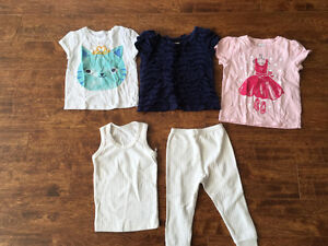 Very cute girls 2T size clothes for $10 Oakville / Halton Region Toronto (GTA) image 3