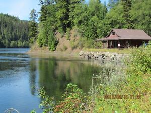 12.4 acres Quesnel Lake Front near Likley BC