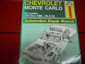 Haynes Monte Carlo manual