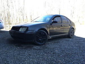 2000 Volkswagen Jetta Black Sedan