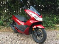 2017 17 reg Honda PCX 125 EX2-H ...NEW''''''ONLY 80 miles FINANCE AVAILABLE
