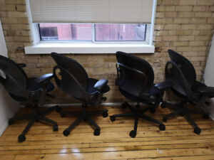 Steelcase office chairs (4)
