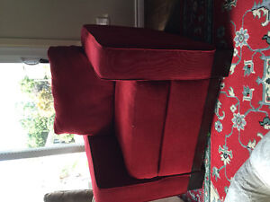 Matching couch, love seat and chair. Excellent used condition.