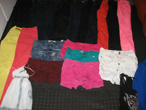Girls Size 0-1 & 1-2 Clothes - 23 items, some Hollister!