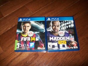 Playstation 4 game lot of 2