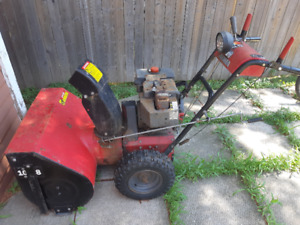 Old Snowblower