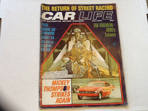 CAR MAGAZINE  1969 TO 1973 REVUE AUTOMOBILE  1969 a 1973