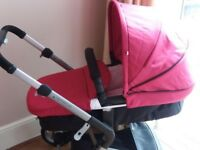 Mothercare roam travel system.