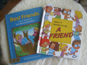 Two Little PRE-SCHOOL BOOKS...To Get the Point Across !
