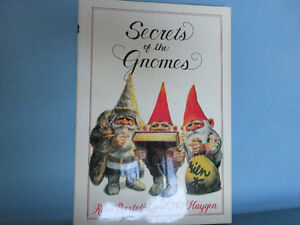 Secrets of the Gnomes - Hardcover book with jacket.