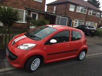 Peugeot 107, Red, Low mileage