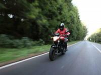 Hyosung GT125P PRE REGISTERED 21 PLATE LEARNER LEGAL GEARED MOTORCYCLE