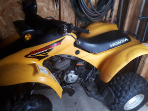 Selling my 2003 Honda TRX 300ex. Ready to go for spring.