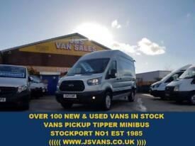 2017 17 FORD TRANSIT CUSTOM 350 NEW EURO 6 130 BHP LONG HITOP 2017/17