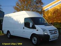 2013/ 13 Ford Transit 350L Jumbo High Roof panel van 2.2 Tdci RWD