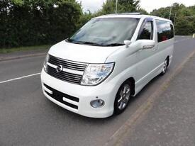 2007 Nissan Elgrand 3500 HIGHWAY STAR FULL LEATHER S/ROOFS 5dr