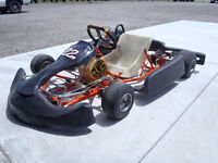 2012 Go Kart Intrepid with new crate motor Peterborough Peterborough Area Preview